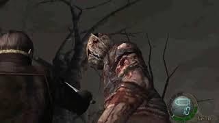 Resident Evil 4 - Matando o Mega DR.Salvador na faca!!!