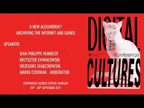 Digital Cultures Conference 2017: New Alexandria