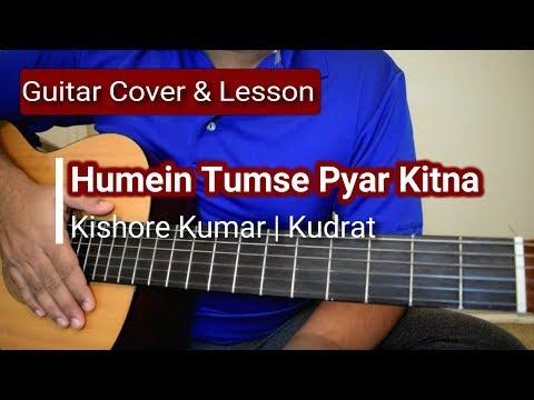 Humein Tumse Pyar Kitna | Kudrat| Guitar Lesson & Cover