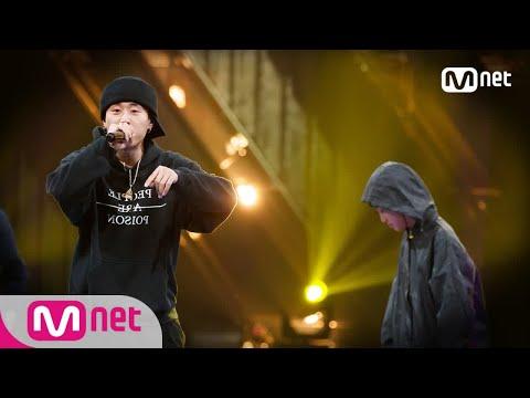 Show Me The Money777 [6회] ′흥 올라 미치는 무대!′ pH-1 vs 디아크 @팀 배틀 181012 EP.6