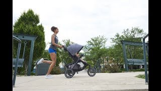 Evenflo Folio3 Stroll & Jog Travel System with LiteMax 35 Infant Car Seat - Product Tour