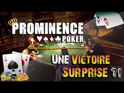 Une victoire surprise ?!   Prominence Poker