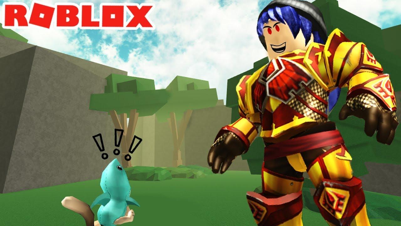 Robloxเมอกระตายยกษจะกนฉนชวยฉนดวย Escape ทำไมพ น วต วใหญ แบบน หล ะคร บ Roblox Titan Simulator Youtube