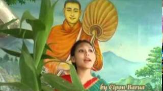 Bangla Chakma  Buddhist Song-ei shubodinoth......mpg