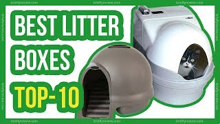 Top 10: Best self cleaning litter boxes 2018 | #litter_boxes