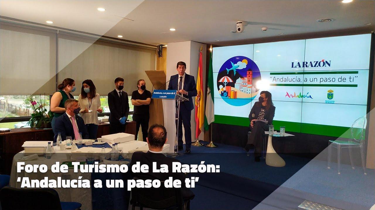 'Andalucía a un paso de ti'. Foro Turismo La Razón en Madrid. 26-02-21