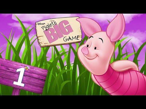 Disney's Piglet's Big Game (GameCube) - HD Walkthrough Level 1 - Pooh's Dream