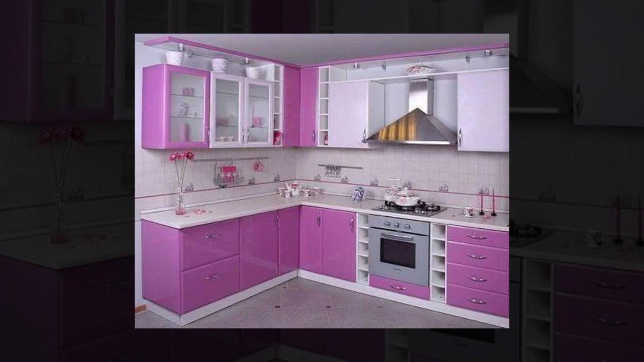 Desain Dapur Bernuansa Pink Youtube