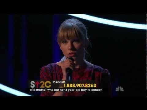 Taylor Swift - Ronan Live (HD)