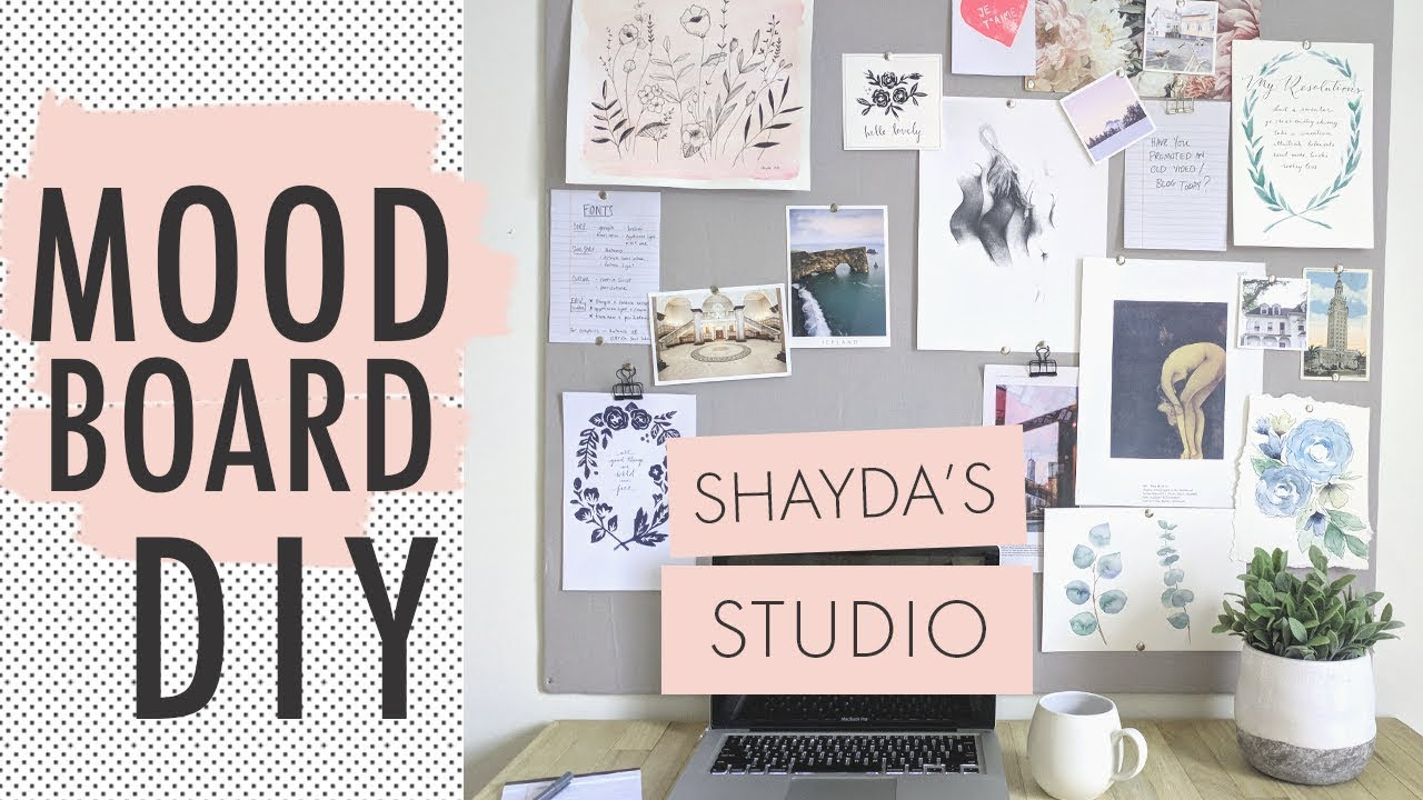 How To Make A Moodboard Productivity Organization Youtube