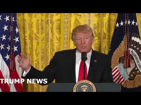 President Trump holds a news conference to discuss new pick , Michael Flynn's talks with Russia