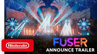 FUSER - Announcement Trailer - Nintendo Switch