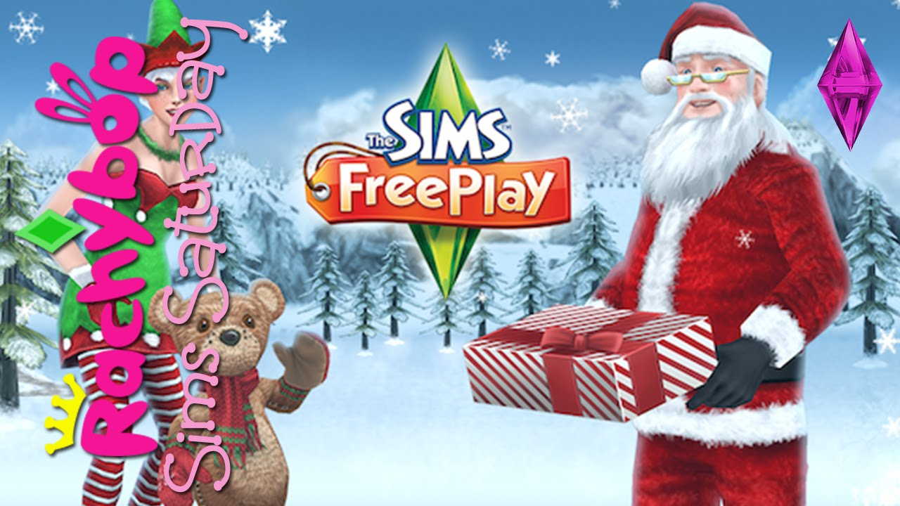 The Sims Freeplay Christmas Update 2014 [ #SimsSaturday ...