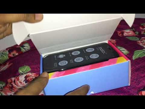 Moto C Plus/16GB/Black (Unboxing)