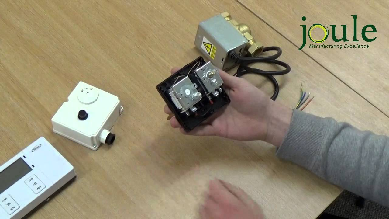 How To Wire A Cyclone Un Vented Dual Thermostat