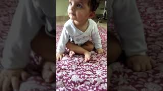 Cute Tanvi sits first time|Cuteness overloaded|Cute baby videos|Baby laughing videos