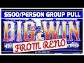 🎰$1,500 Reno Group Pull at Atlantis ✦ $500/Person ✦ Brian Christopher Slots
