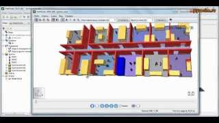 FireCat - Урок 1.2. - Pathfinder(Видео-урок 1.2. - создание и расчет простой модели для расчет времени эвакуации одноэтажного здания в програ..., 2014-08-27T05:50:18.000Z)