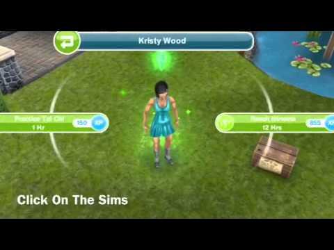como crear un sim en sims free play