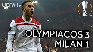 OLYMPIACOS 3-1 MILAN #UEL HIGHLIGHTS
