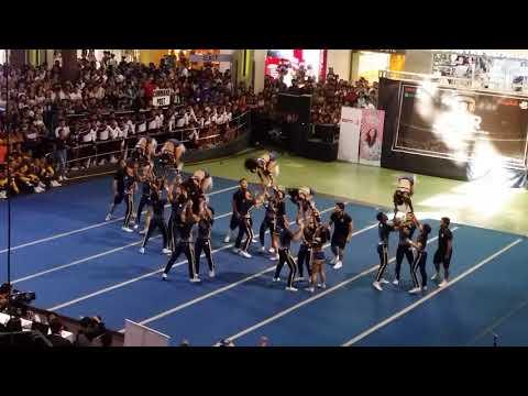 NU Pep Squad - Team Blue - 2019 NCC NCR Qualifiers - CoEd Senior Cheer