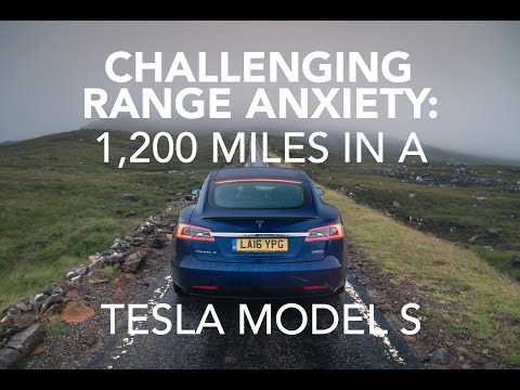 Challenging Range Anxiety Miles In Tesla P90d