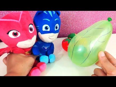 I Super Pigiamini PJ Masks catturano la lumaca mangiona! [Video Educativo con giochi per bambini]