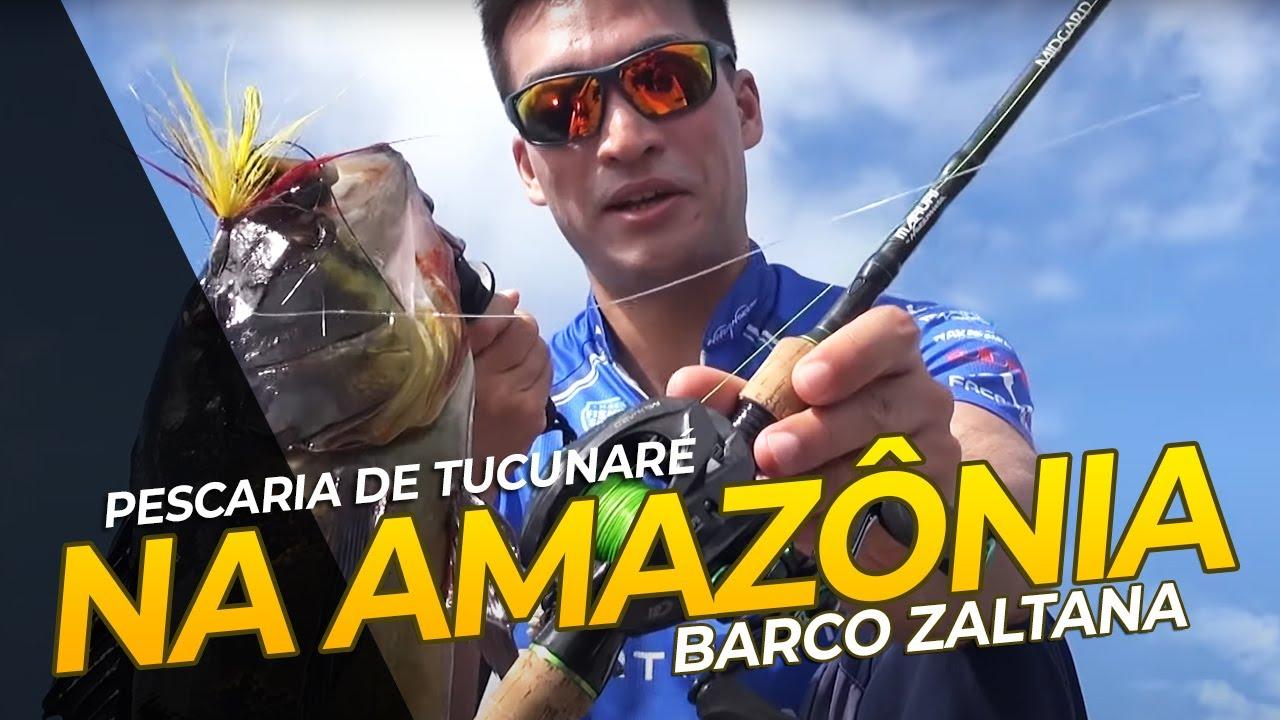 Pescaria de Tucunaré na Amazônia. pescaria com Renan Nakamura