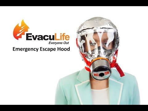 Emergency Evacuation Smoke Mask & Hood