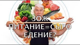 ЗОЖ питание = сыроедение? Что такое правильное питание?