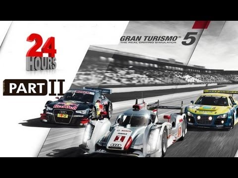GRAN TURISMO 5 - Racing at the 24 Hours of Nurburgring 2012 Part 2