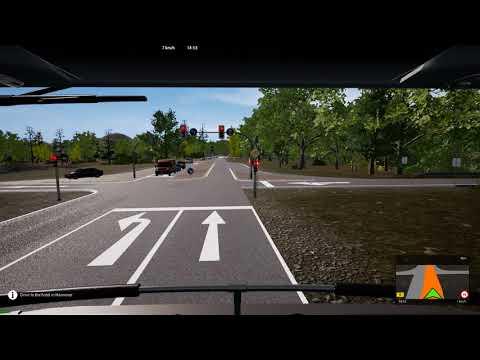 Fernbus simulator Bundesliga dlc drive to Hannover part three |