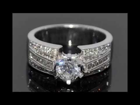 Best Wide Band Diamond Wedding and Engagement Rings