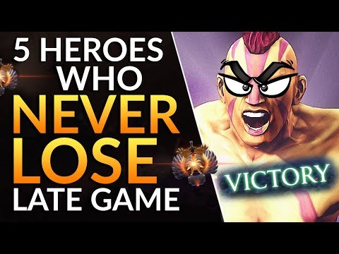Top 5 Carry Heroes Who CANNOT LOSE Late Game: Safelane Drafting Tips | Dota 2 Meta Guide