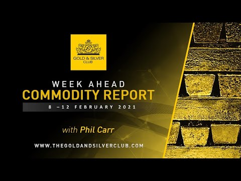 WEEK AHEAD COMMODITY REPORT: Silver & Gold Price Forecast: 8 - 12 February 2021