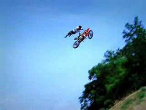 jeux de moto cascade