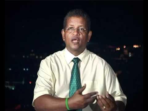 Wavel Ramkalawan's 2nd TV broadcast