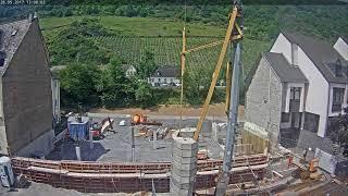 Zeitrauffer-Aufnahme des Neubaus der Verbandsgemeinde Cochem