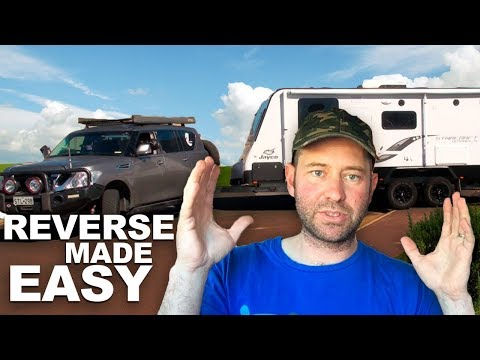 How to: Guide to Reversing a Caravan RV
