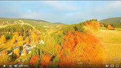 Rokytnice nad Jizerou a Lysá hora na podzim od RTK