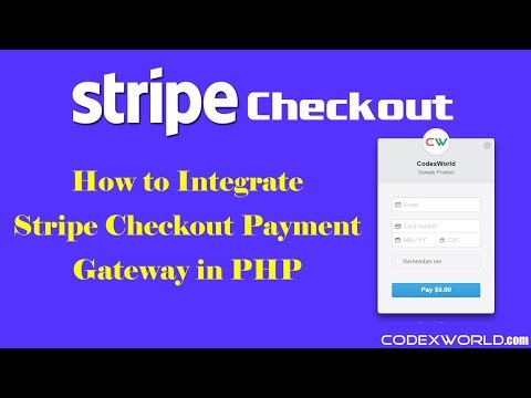 Stripe Checkout Integration in PHP - YouTube
