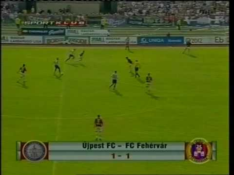 Újpest FC-Fehérvár 2006 tavasz - YouTube