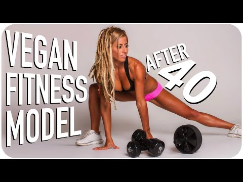 From Cancer Scare to Vegan Fitness Model At 40+!