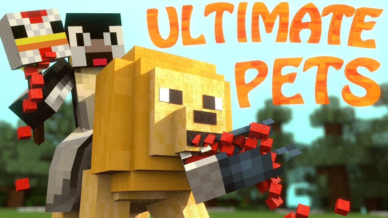 Minecraft Ultimate Pets Mod Showcase Pets Mod Battle Pets Mod Pets Youtube