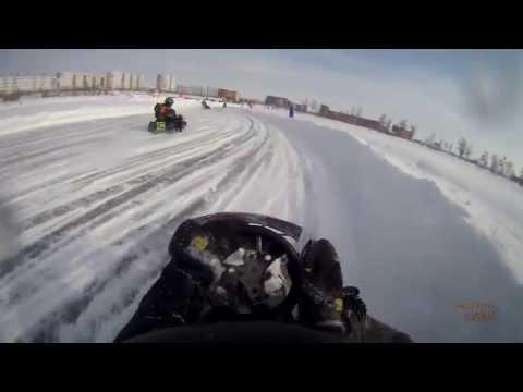 видео: зимний картинг cz 250