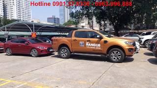 Tính Năng Hỗ Trợ Đỗ Xe Chủ Động ( Ghép Ngang ) Trên Ford Ranger 2018 và Ford Everest 2018