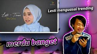 Trending❗Lesti Nyanyikan Tirani Piano Version | Offician Lyric Video ( reaction )