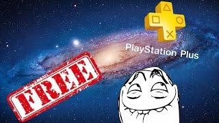 Бесплатный Playstation Plus на PS4 + ИНСТРУКЦИЯ