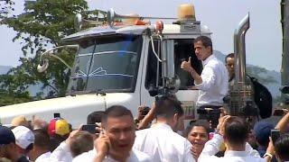 Al menos dos muertos y 15 heridos en la frontera de Venezuela con Brasil