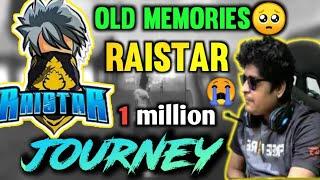 1M JOURNEY OF RAISTAR AND GYAN GAMING | OLD MEMORIES 🥺 | ORGANIC GAMERz